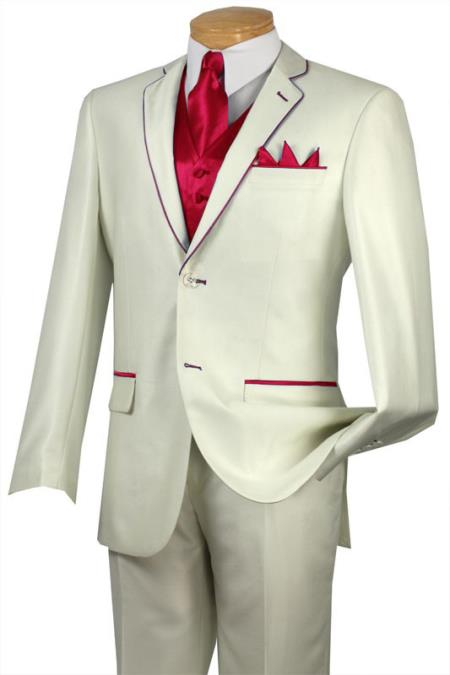 Tuxedo red color shade
