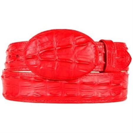 Western Style Belt red