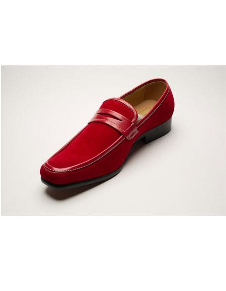 Mens Two Toned Red