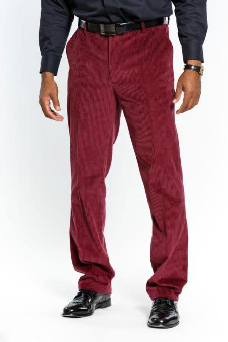 Mens Stylish Red Wine