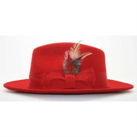 red color shade Fedora