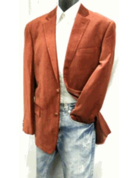 Mens Rust ~ Cognac