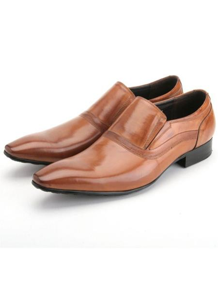 Mens stylish rusty calfskin