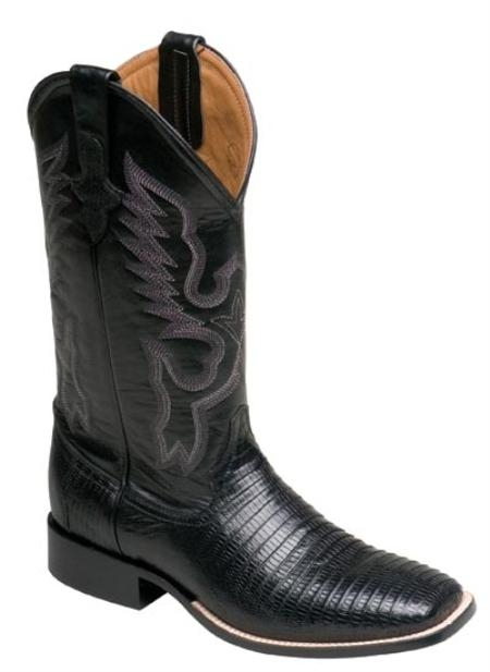 Ferrini Cowboy Lizard S-Toe