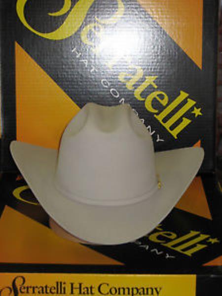 Product# KA6320 Serratelli Designer 10x El CapiTan khaki Color Platinum 4 Brim Western Cowboy Hat