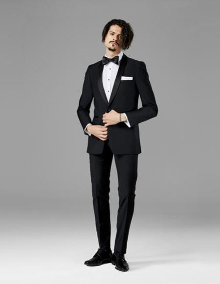 Mens Black best Suit