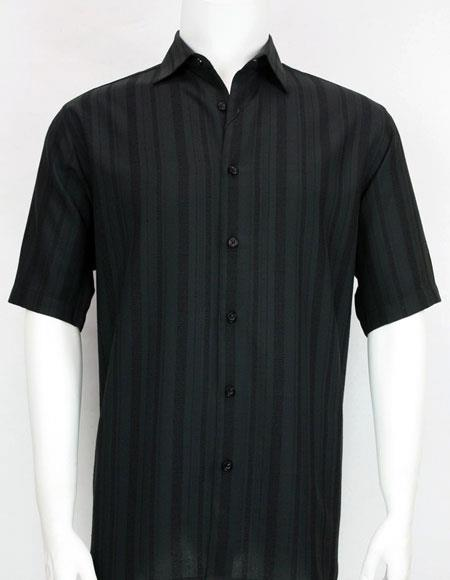 Bassiri stripe Short Sleeve