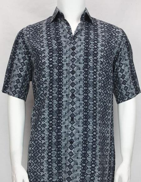 Bassiri Blue button down