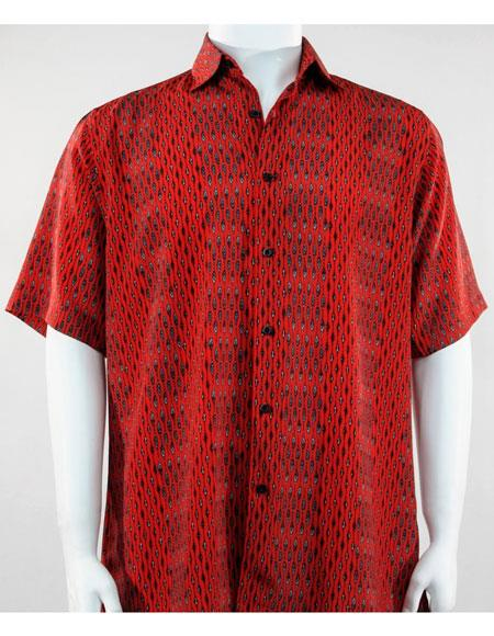 Bassiri Short Sleeve button