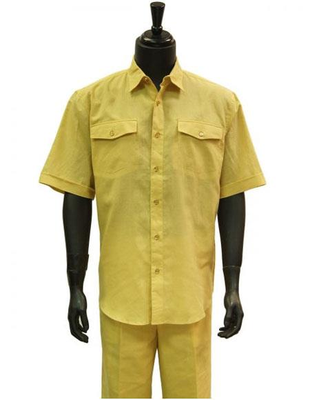 Mens Butter Lemon Yellow