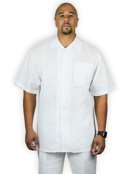 Mens Two Piece Shirt