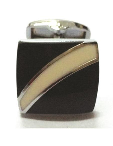 Ferrecci 2pieces Silver/Black/Cream Favor