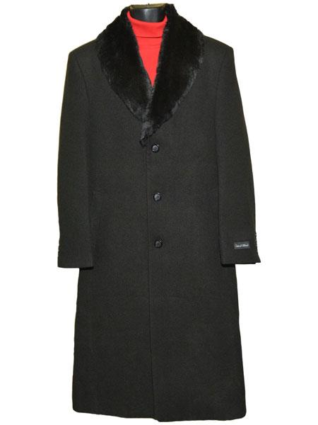 Mens Fur Collar 3