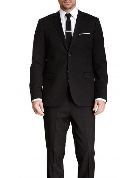 Mens Black Slim Fit