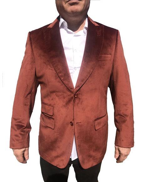 men's Velvet Blazer ~ Sportcoat Jacket