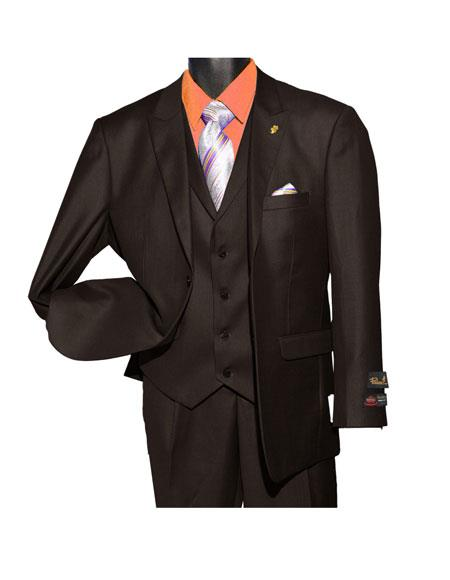 Falcone Men's Fashion Brown