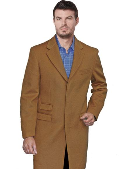 Mens Light Camel Single