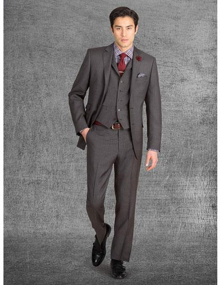 Product# JSM-6677 2018 Coming Alberto Nardoni Best Mens Italian Suits Brands Collection