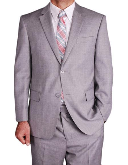 Product# JSM-6429 Mens Classic Single Breasted Authentic Giorgio Fiorelli Brand suits Flat Front Pants