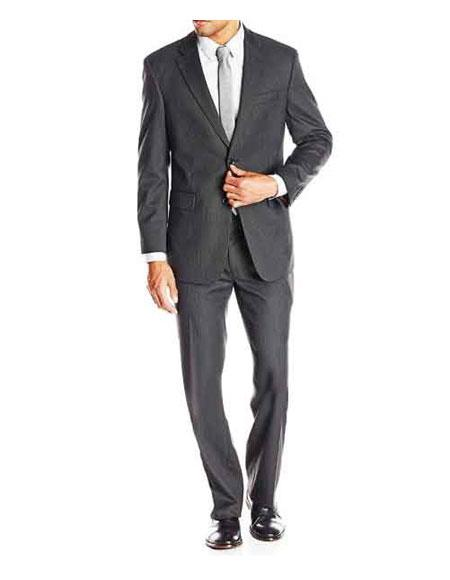 Product# GD1134 Men's Bond Spectre Single Breasted Grey Striped Notch Lapel Fully Lined Suit