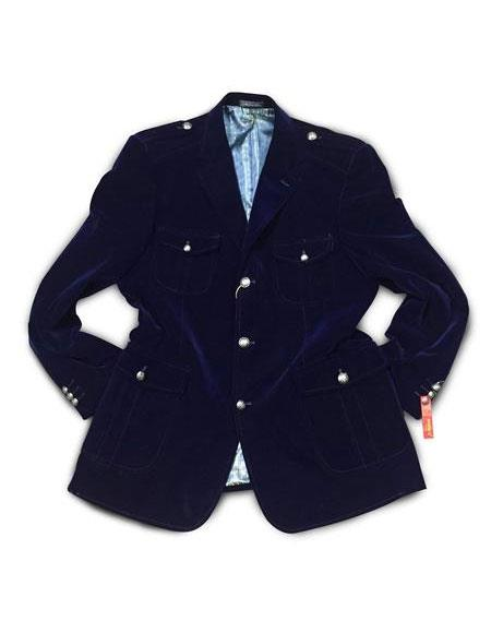 Mens Navy 3 Buttons