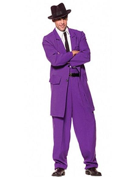 Mens Purple Zoot Suits
