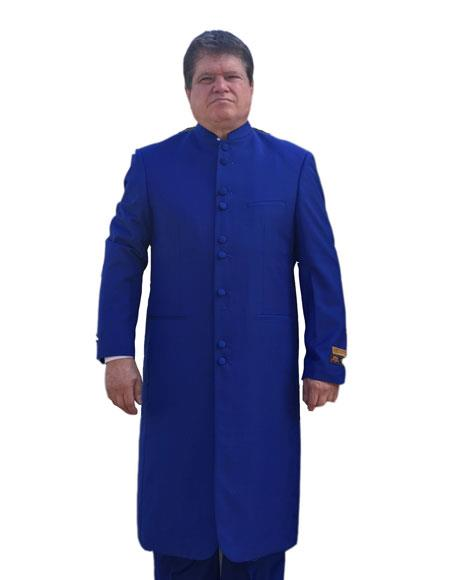 Royal Blue Color clergy