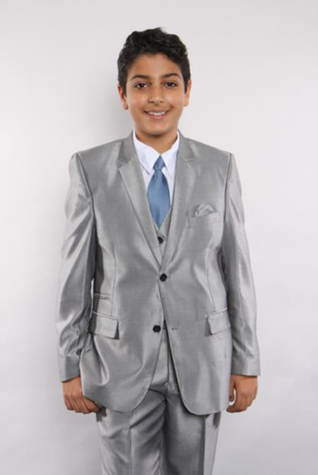 Boys Sharkskin 5 Piece