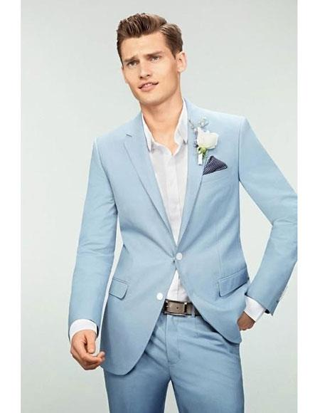 JSM-5991 Mens Sky Blue Powder Blue