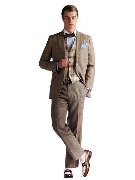 Product# MO437 Brooks Brothers Gatsby Combination With Vest Belt