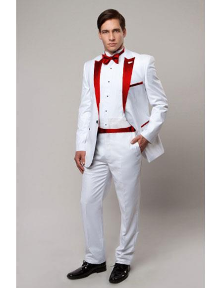 Slim Tux white with