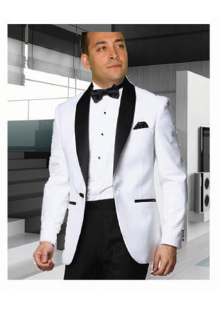 White Tuxedo with a