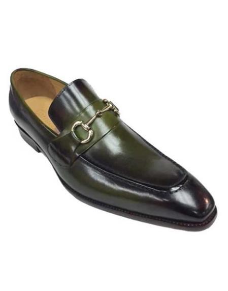 Mens Leather Fashionable Carrucci