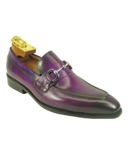 Mens Slip On Leather