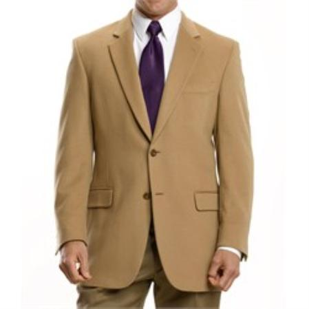 Executive 2-Button Cashmere &