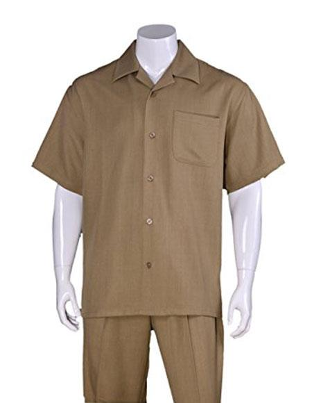 Mens Casual Short Sleeve