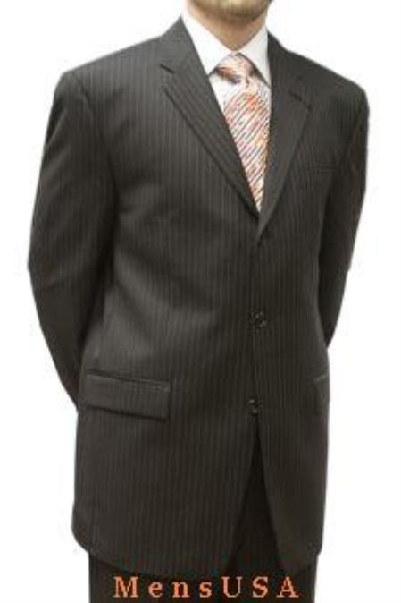 AGW827 brown color shade Stripe ~ Pinstripe
