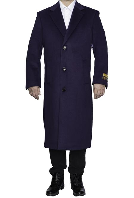 Mens Full Length Wool