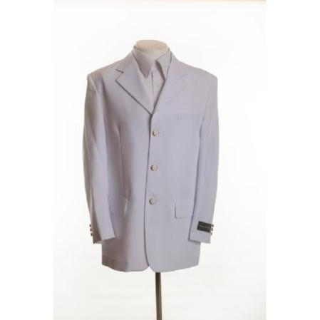 Product# BH896 New White Blazer Online Sale - Three Button, Single Breasted Suit Jacket