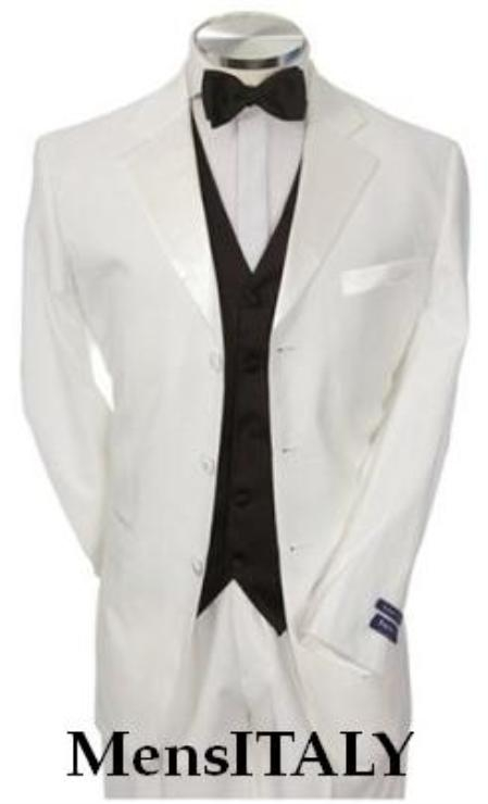 Light Weight White Tuxedo