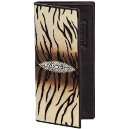 Wild West Boots Checkbook-Tiger