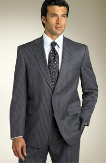 Expensive UMO Collezioni Mini Trackstripe Two Button notched lapel 100% Superior Fabric Wool Fabric