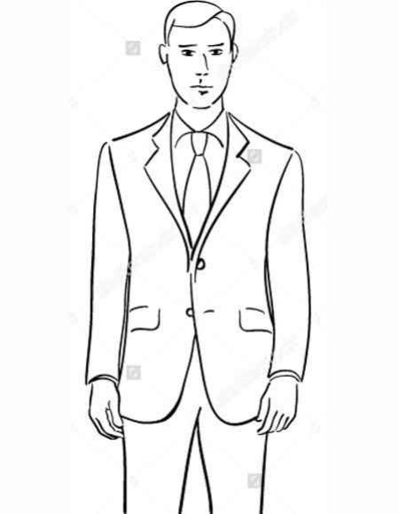 Product# JSM-2209 Men's 2 Button Vitto Black 2 Piece Slim Fit Notch Collar Dual Vent 100% Wool Suit