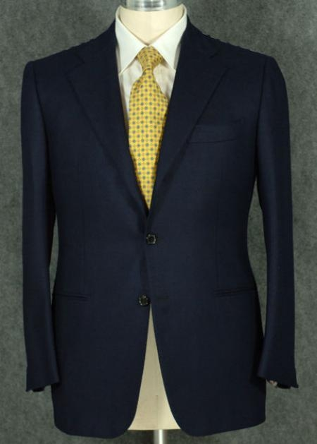 Product#NVTZ-100 2 Button Style Jacket Superior Fabric 100' Wool Fabric Suit With Pleated Slacks Pants in 6 Colors