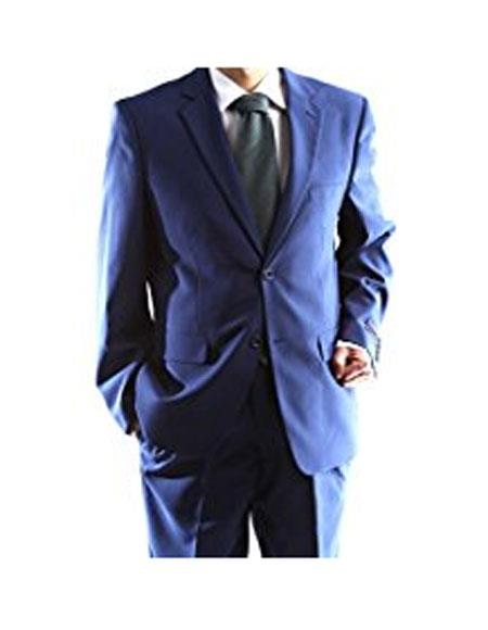 Braveman Blue 2 Button