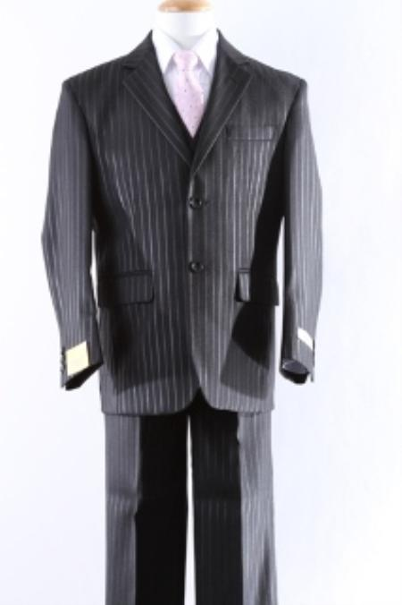 Two Button 5 Pcs Boy Dress And Men Suit For Teenagers Set Size From Baby to Teen