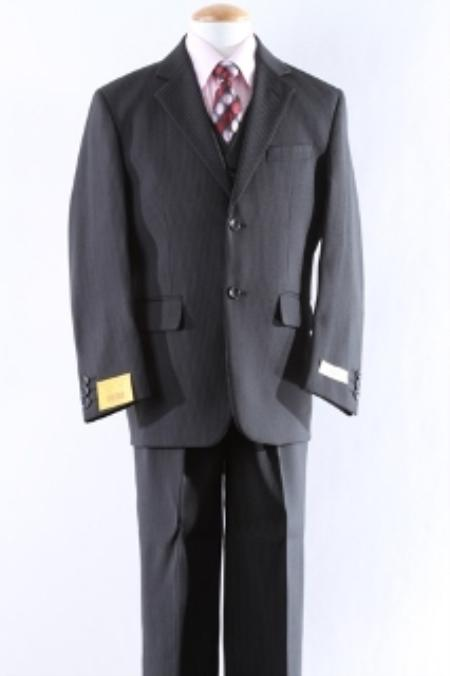 Product# KA5551 Two Button 5 Pcs Boy Dress And Men Suit For Teenagers Set Size From Baby to Teen