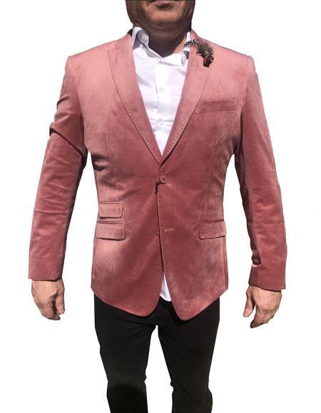 Product# AP575 Mens Velvet Blazer ~ Sportcoat Jacket