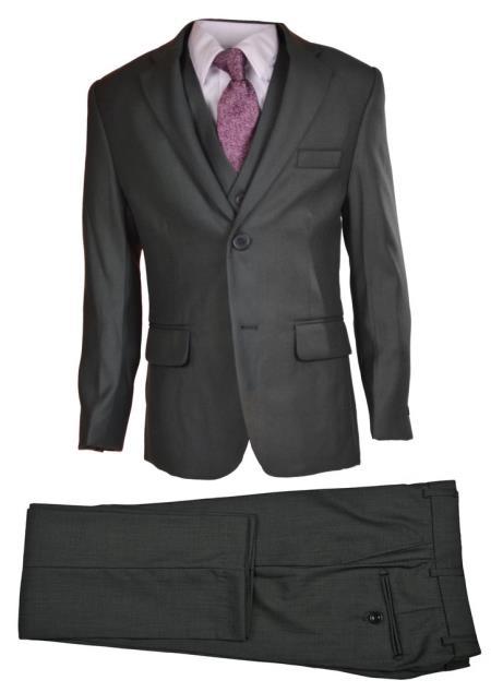 Gray Husky Boys Dress