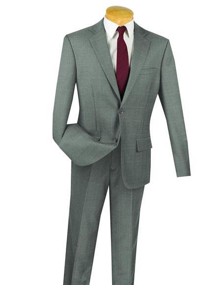Fortini Gray 100% Wool